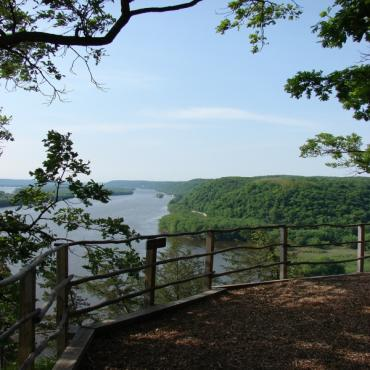 Effigy Mounds  River View