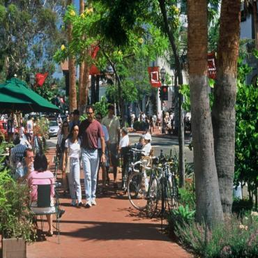 Street Scene Santa Barbara