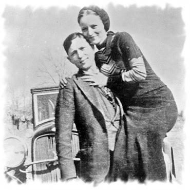 Bonnie & Clyde B&W photo2.jpg