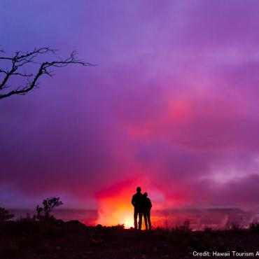 HI Big island volcano couple.jpg
