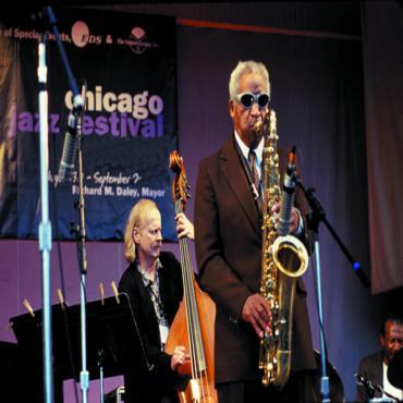 jazz festival player