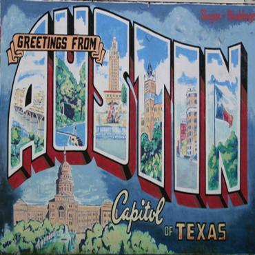 Austin TX mural