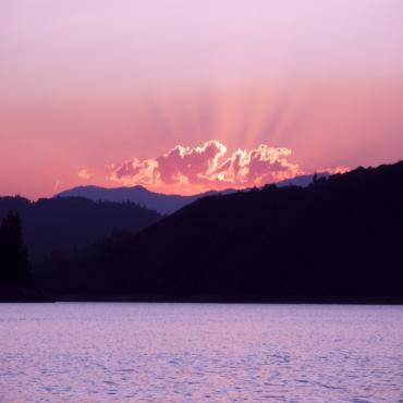 Lake Shasta sunset