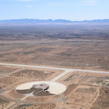 Spaceport America Aerial View