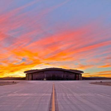 Sunset at Spaceport America