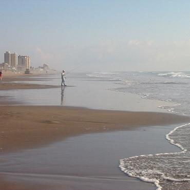 Beach at South Padre Island