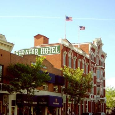 strater hotel exterior