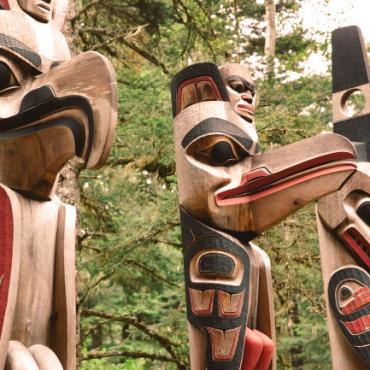 BC Totem poles
