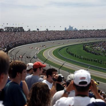 Indy 500 Race track