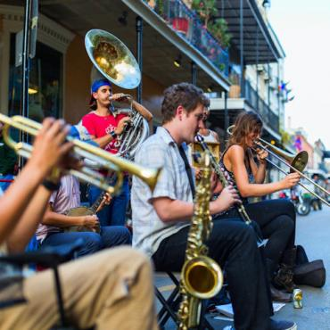 MSY street band By Zack Smith Photography