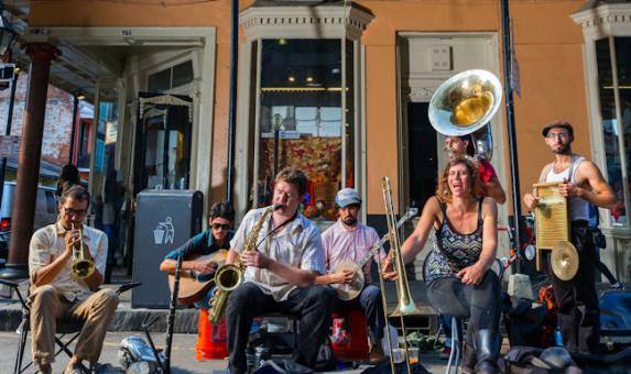 MSY street band2 By Zack Smith Photography