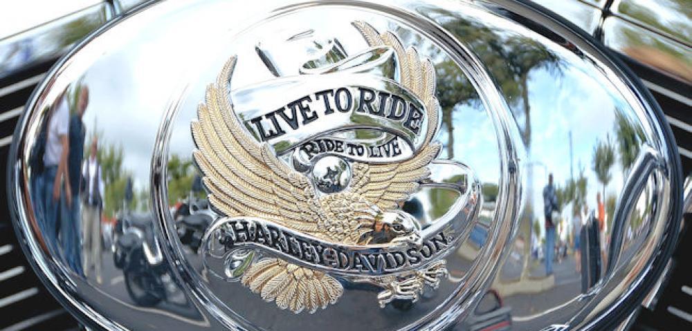 harley-davidson motorbike tank