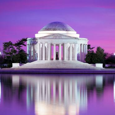 Was DC Memorial Purple