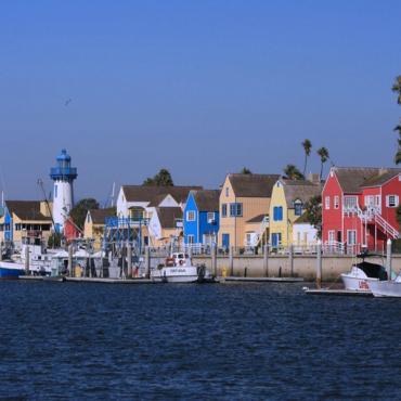 Marina Del Rey Sea front & Houses