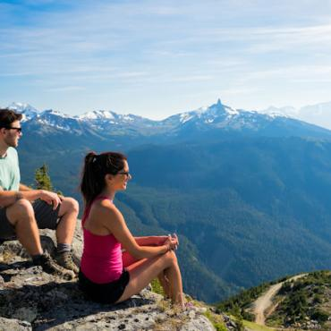 BC Whistler hikers