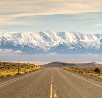 Nevada open road