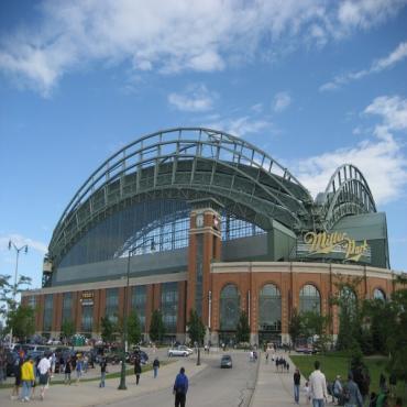 Miller Park stadium exterior