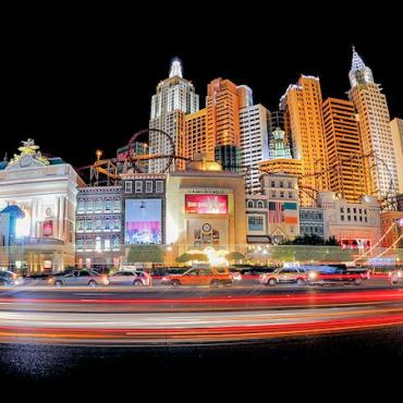 NV Las Vegas strip night
