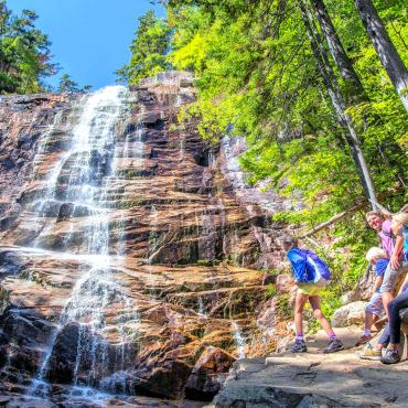 NH Arethusa Falls, Crawford Notch