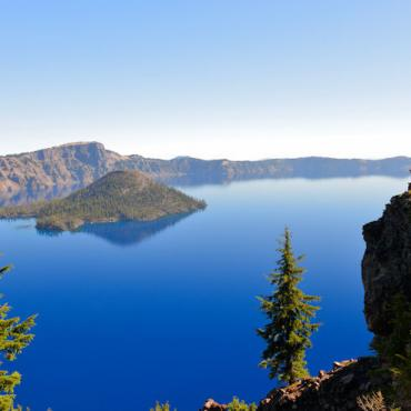 OR Epic views of Crater Lake National Park