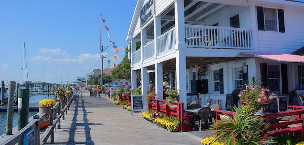 NC Beaufort boardwalk