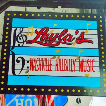 BNA Layla's sign