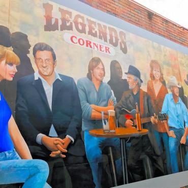 BNA Legends mural