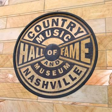 Nashville  Country Music Hall of fame sign