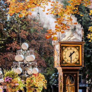 YVR Gastown Steam Clock