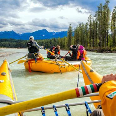BC Golden rafting