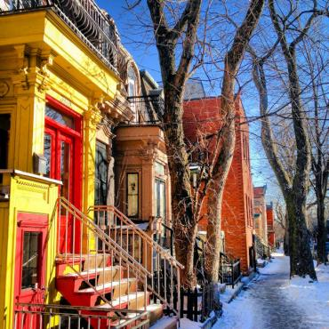 Montreal Plateau Mont Royal Mile End © Susan Moss Photography