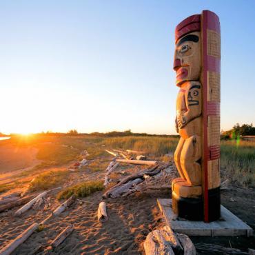 YVR island Totem Credit Destination BC Boomer Jerritt