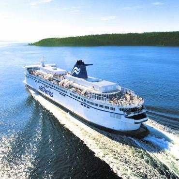 BC ferry inside passage