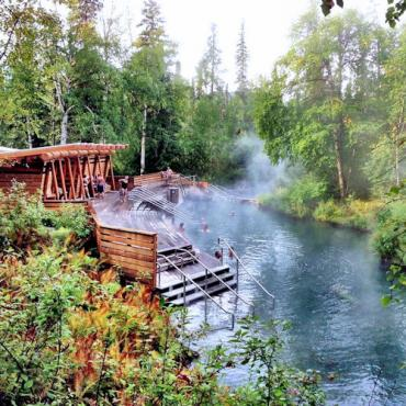 BC Liard River Hot Springs