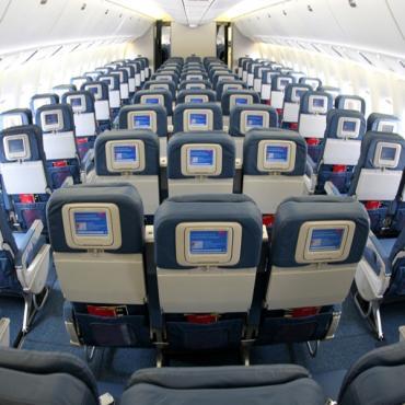 Delta coach cabin interior