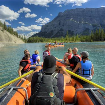 AL Rafting_Bow_River_Banff Credit Banff & Lake Louise Tourism  Paul Zizka Photography
