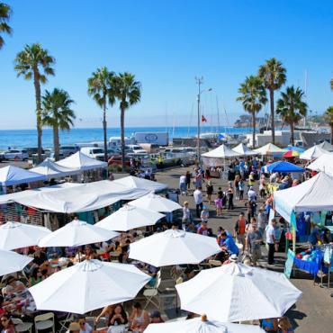 SantaBarbaraHarbor_seafoodfestival02_photocredJessyLynnPerkins Courtesy Visit Santa Barbara