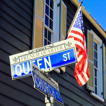 Charleston SC street sign