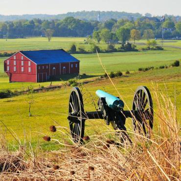 Gettysburg battlefield_Oak_Hillburg_Battlefield