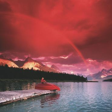 Canada - red sky