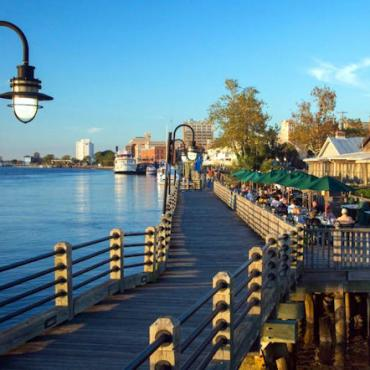 NC Wilmington boardwalk