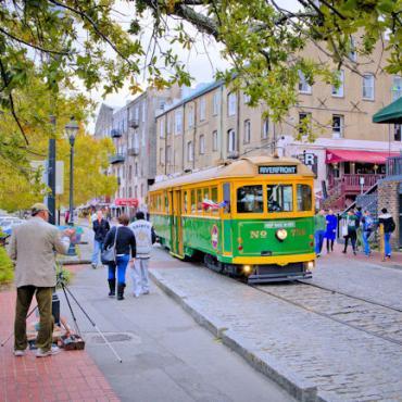 GA Savannah tram Credit Georgia Department of Economic Development