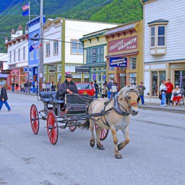 Downtown Skagway2 © State of Alaska Reinhard Pantke