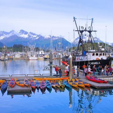 boat dock Valdez © State of Alaska Reinhard Pantke
