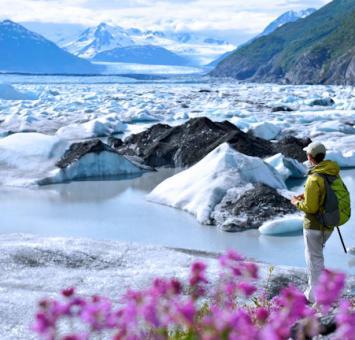 Mat-Su Valley  Knik Glacier © State of Alaska Matt Hage