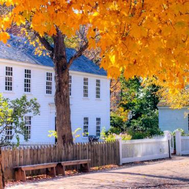 MASS Old Sturbridge fall foliage