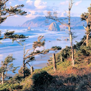 Oregon Coast-Photo by Larry Geddis