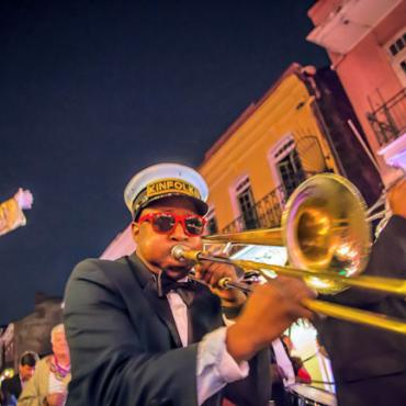 MSY Brass Band by Todd Coleman Photo Courtesy of New Orleans CVB web