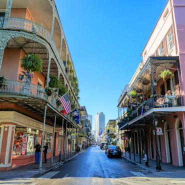 MSY French Quarter by Paul Broussard Photo Courtesy of New Orleans CVB
