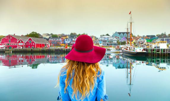 NS Looking over Lunenburg waterfront  Credit Tourism Nova Scotia